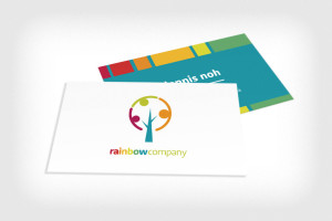 rainbow-company-business-cards